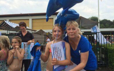 Super donatie van Zwemvierdaagse De Meerkamp